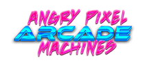 Angry Pixel Arcade Machines Northern Ireland Logo